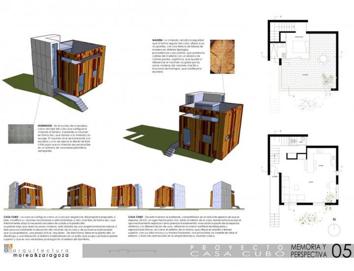 Proyecto Casa Cubo