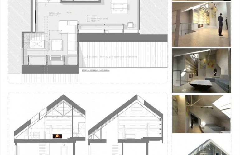 Proyecto reforma Casa Fernando - Morea Zaragoza