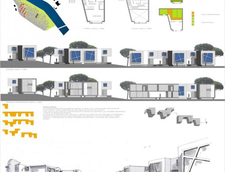 Proyecto residencial para estudiantes
